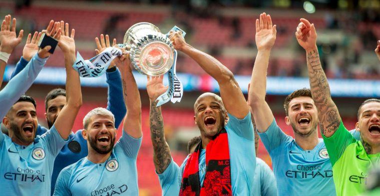 Kompany geniet van FA Cup-winst en laat zich uit over zijn toekomst