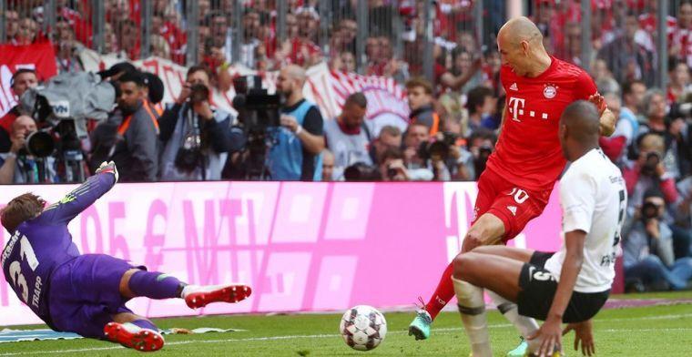 Smetje op 'emotionele dag' voor Robben: 'Dat hem dat niet gegeven is doet pijn'