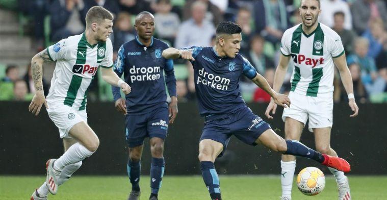 Treffen tussen Groningen en Vitesse blijft spannend door belangrijk uitdoelpunt