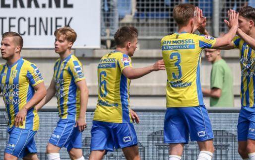 Afbeelding: Eredivisie-lot Excelsior bungelt aan zijden draadje na verlies in Waalwijk