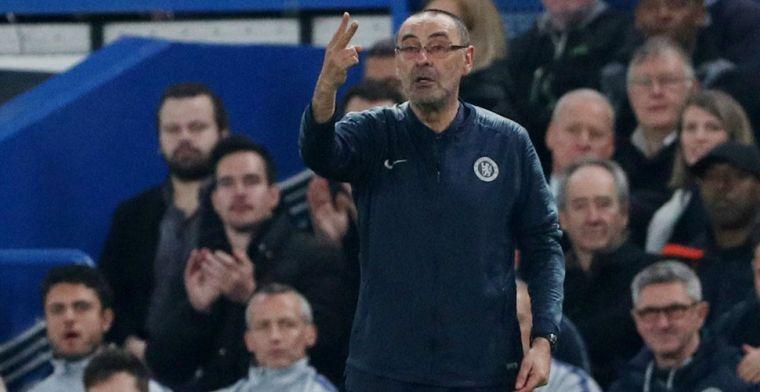 'Sarri vreest voor elf (!) transfervrije assistenten en klopt aan bij bestuur'