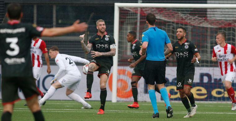 Sparta met anderhalf been in finale play-offs na heerlijke goals van Harroui