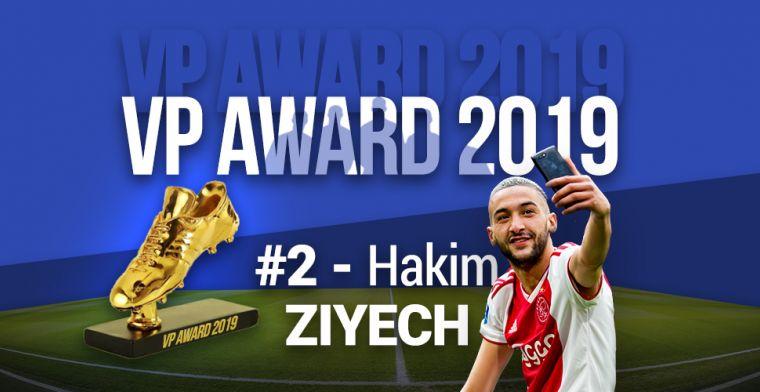 VP Award 2019: publieksfavoriet Ziyech beloond met tweede plek