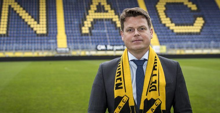 NAC stopt met uitkeren van bonussen: Je wil een zo sterk mogelijk elftal