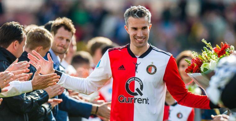 Van Persie doet transferonthulling: Het was die avond na Ajax 2 - Feyenoord 2
