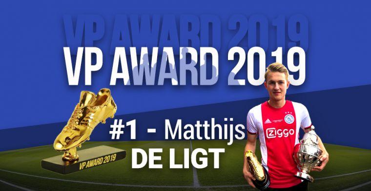 VP Award 2019: De Ligt pakt hoofdprijs na sensationeel jaar in Amsterdam