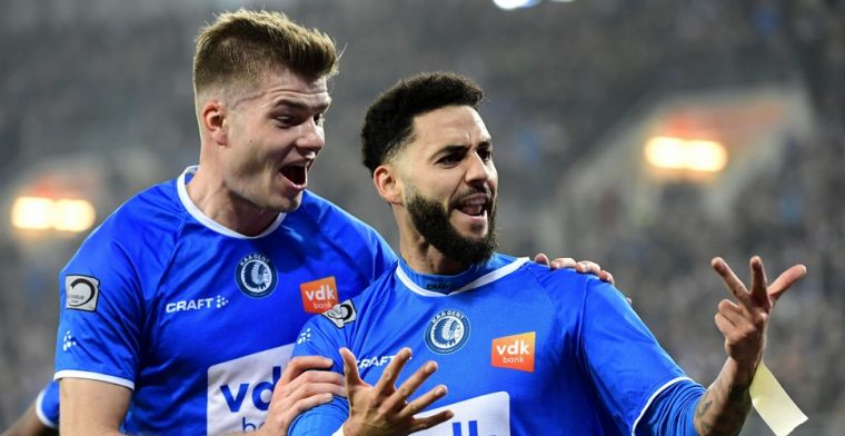 Bronn eindigt seizoen met extra glans, Speler van het Jaar bij Gent
