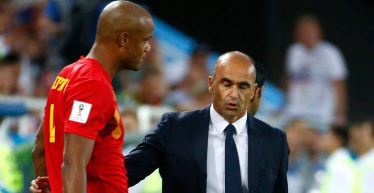 Martinez brengt duidelijkheid over Kompany bij de Rode Duivels