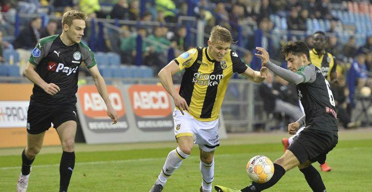 Vitesse walst in half uur over FC Groningen heen en mag op herhaling in Utrecht