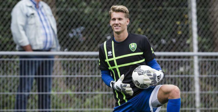 'Van der Sar junior zegt betaald voetbal vaarwel en keert terug in Noordwijk'