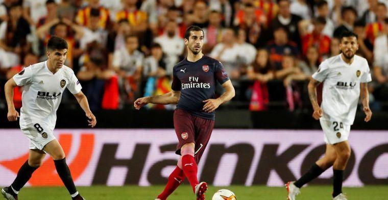 Arsenal deelt verklaring: Mkhitaryan uit veiligheidsoverwegingen niet in EL-finale