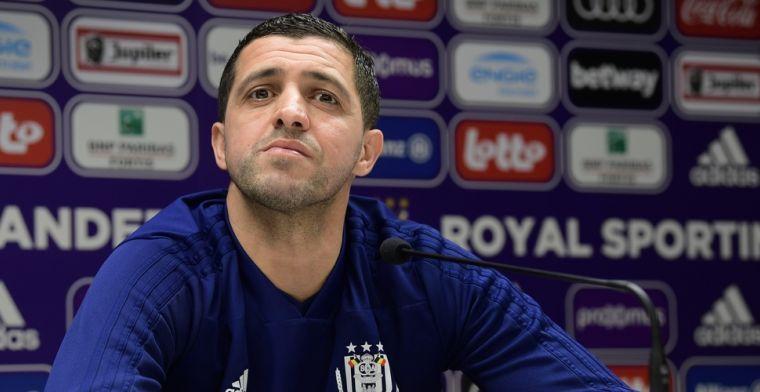 'Anderlecht wil Belhocine graag aan boord houden en opent gesprekken'