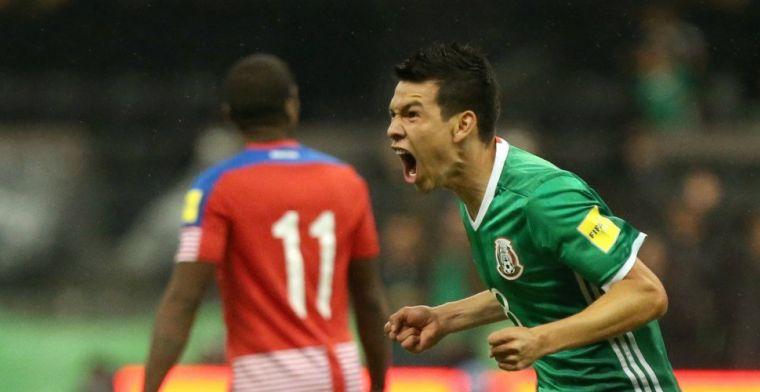 'PSV voorzichtig met geblesseerde Lozano: medisch manager mee naar Mexico'