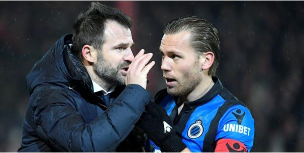 Fans van Club Brugge eren Leko: 'Bedankt voor de twee mooie jaren'