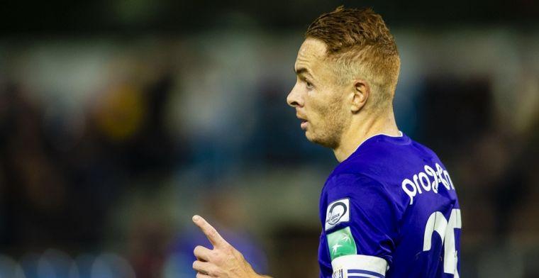 Anderlecht wil af van Trebel: 'Zijn waanzinnig contract nooit gehonoreerd'