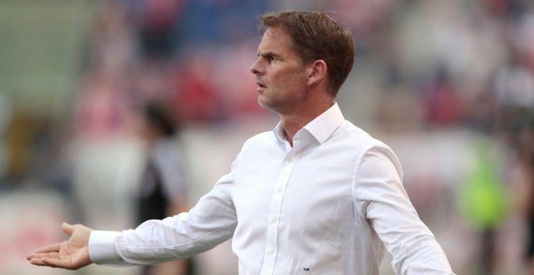 Ajax-dreun deed De Boer pijn: Zo zonde, zo onnodig. Ze mogen trots zijn