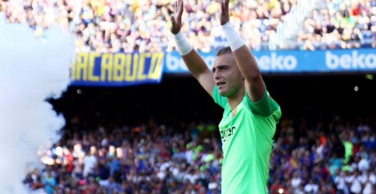 Opsteker voor Cillessen: doelman neemt met basisplaats afscheid van Barça