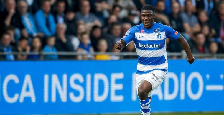 'Ik zit gewoon heel dicht tegen een transfer naar Groningen aan, ben er blij mee'