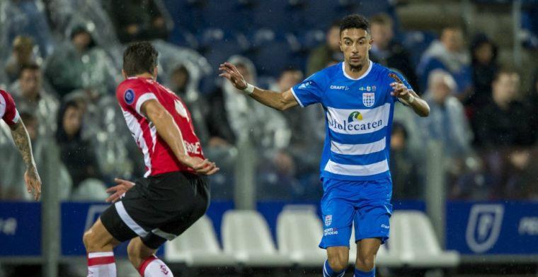 'Het is tijd om PEC Zwolle vaarwel te zeggen voor een nieuwe stap in m'n carrière'