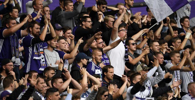 Anderlecht-fans hebben het nu ook gemunt op trein: 'Liège Gay Side!'