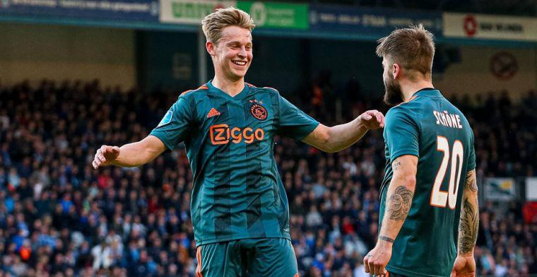 Van Gaal: 'De Jong moet zich afvragen welke rol hij had kunnen spelen bij Ajax'