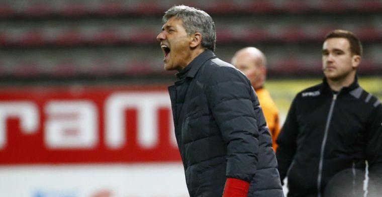 'Mazzu kan vertrekken bij Charleroi, twee clubs uit Play-Off 1 denken aan coach'