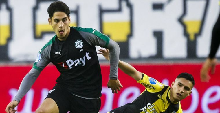'FC Groningen vangt stuk minder dan 7,5 miljoen voor transfer Reis'