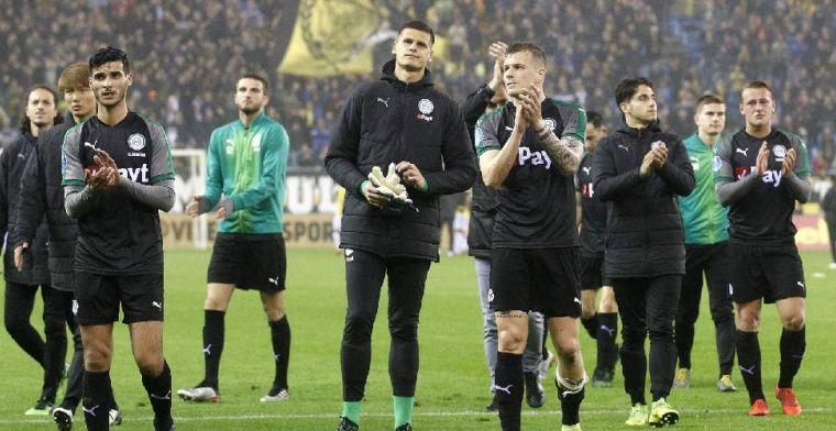 'Bom barst in spelersbus FC Groningen: keiharde confrontatie en ruzie'