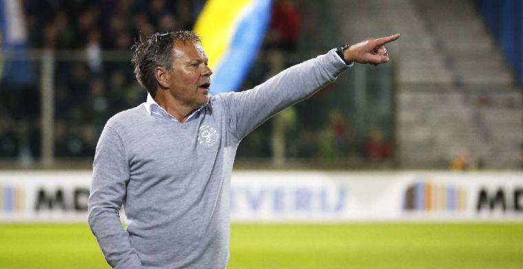 De Jong blij dat Cambuur niet promoveert naar Eredivisie: Dat is hartstikke goed
