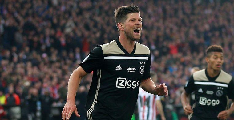 Huntelaar ontvangt voorstel van Ajax: 'Mooi, maar ik denk er nog niet over na'