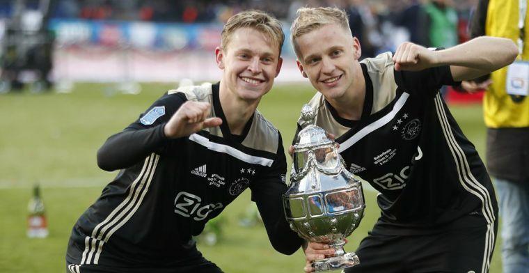 Ajax sponsorde supporters en hield niets over aan bekerwinst: 'Hebben wij betaald'