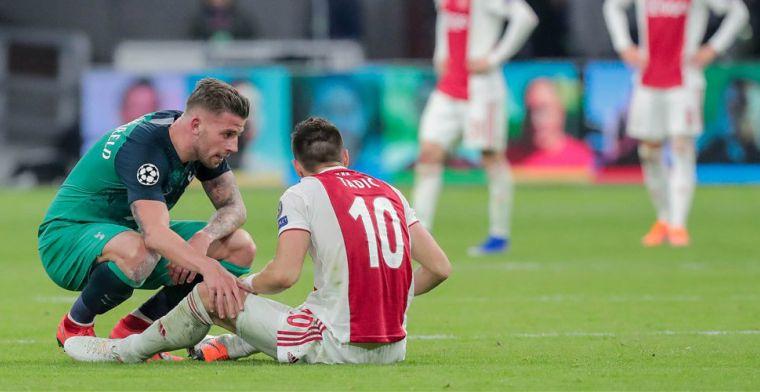 Tadic verwerkt Ajax-uitschakeling: 'Die nacht heb ik serieus een uur niet gehuild'