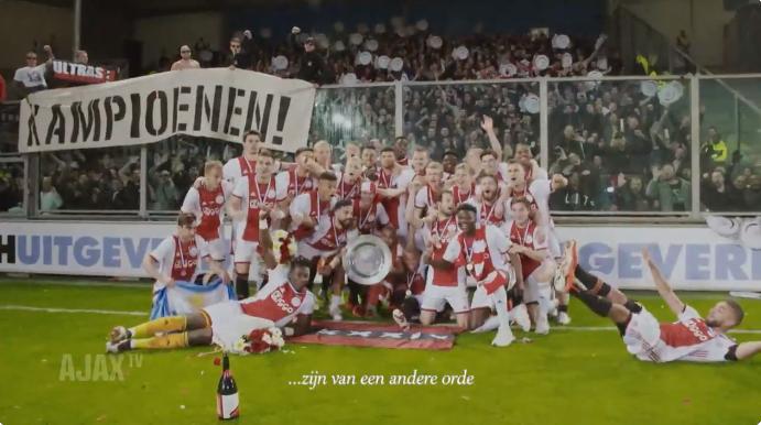 Ajax eert 'Class of 2019' met prachtige video: 'You, boys... are something else'