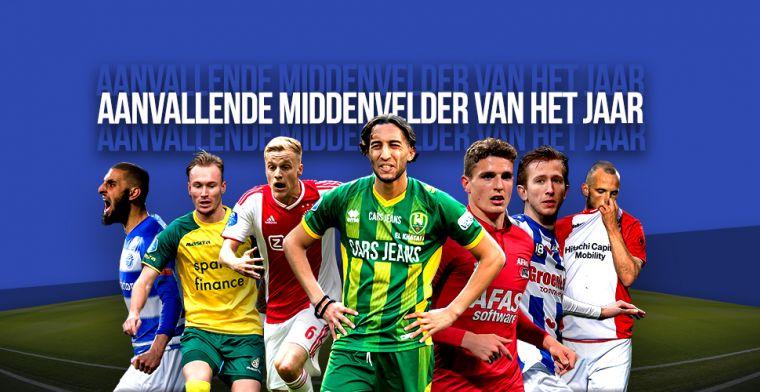 VoetbalPrimeur Elftal van het Jaar: aanvallende middenvelder