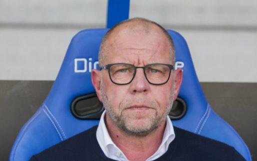 Afbeelding: 'PEC Zwolle-doelwit' Grim komt met 'standaardantwoord': 'Moet ik zo doen, vind ik'