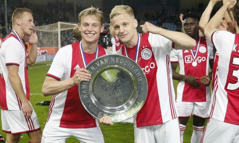 Afbeelding: Ten Hag veranderde Ajax-systeem voor De Jong: 'Toen kon hij meer gaan uitblinken'