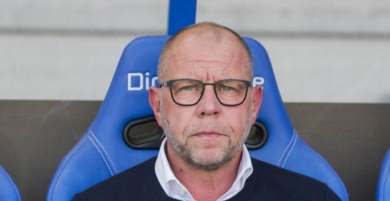 'PEC Zwolle-doelwit' Grim komt met 'standaardantwoord': 'Moet ik zo doen, vind ik'