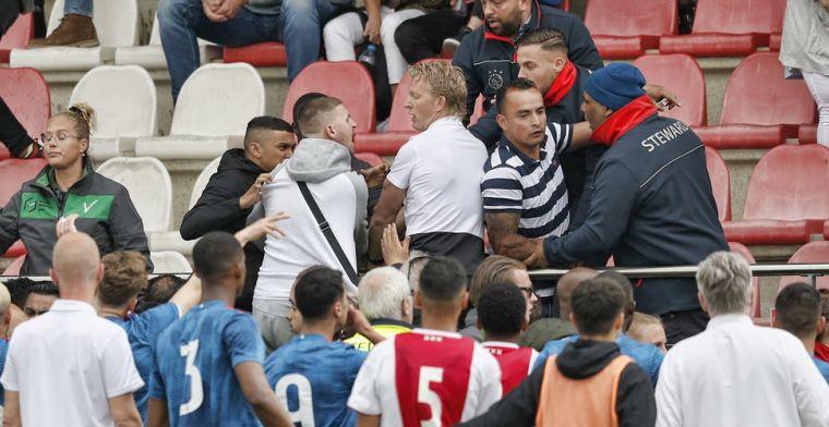 Ajax-fans reageerden 'zo heftig' na 'lichte provocatie': 'Sloeg in één moment om'