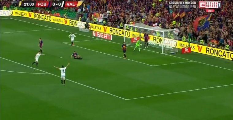 Sensatie in Spaanse bekerfinale: Cillessen hoort bal voorbij vliegen, Barça achter