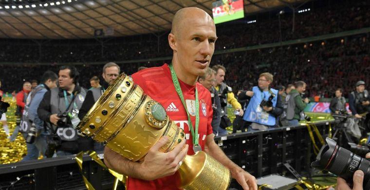 Einde van Robben bij Bayern: Ik besef nog niet helemaal dat alles nu voorbij is