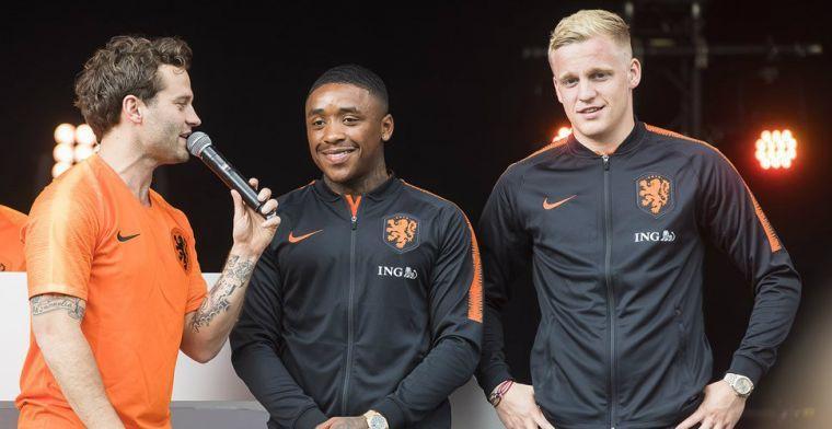 'Bij Oranje is het anders dan bij Ajax. Daar heb ik ook m'n plek afgedwongen'