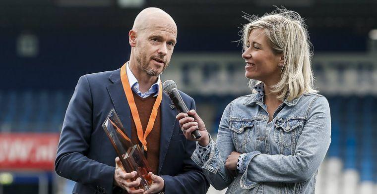 'Spanning bij Ajax liep aan begin van het seizoen hoog op door onzekere Ten Hag'