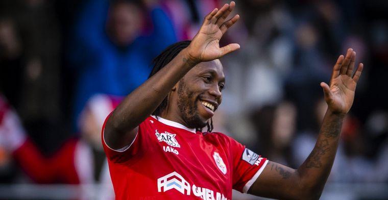 Mbokani kondigt afscheid aan bij Antwerp: Dit was mijn laatste match