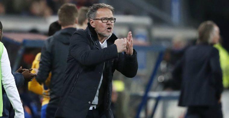 De Graafschap-coach De Jong: 'We kunnen niet zijn kop eraf hakken'