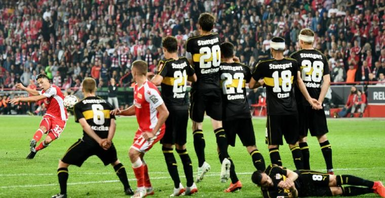Union Berlin voor het eerst naar de Bundesliga; Stuttgart degradeert