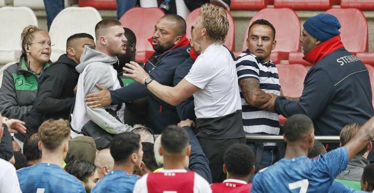 Feyenoord baalt van ongeregeldheden in Amsterdam: 'Helaas niet genaderd'