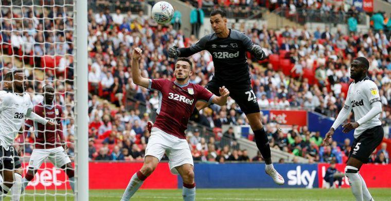 Aston Villa keert ten koste van Derby County na drie jaar terug in Premier League