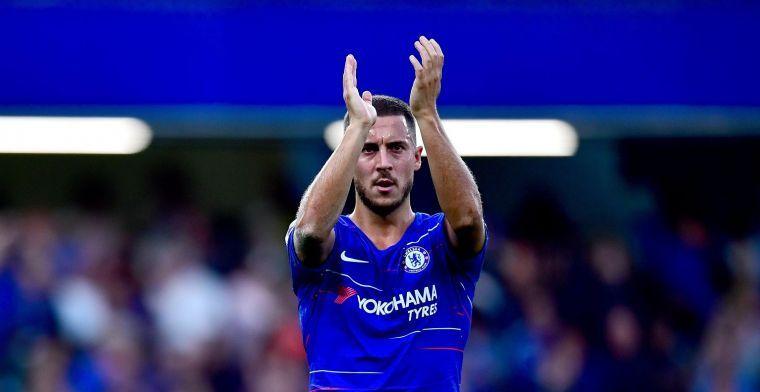Hazard pakt knappe prijs: Fans verkiezen hem tot Speler van het Jaar