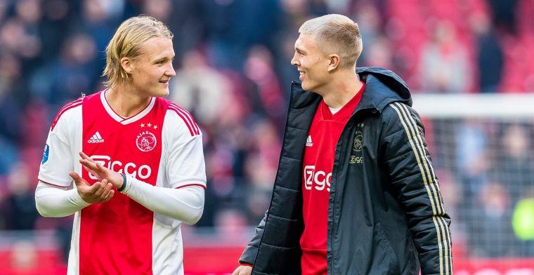 'Ik ben niet blij met het feit dat ik op dit moment derde keus ben bij Ajax'