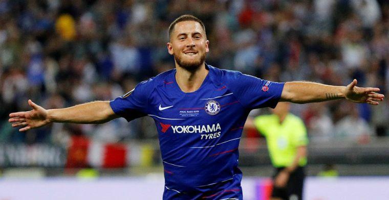LIVE: Hazard en Chelsea zijn Arsenal te machtig en winnen Europa League